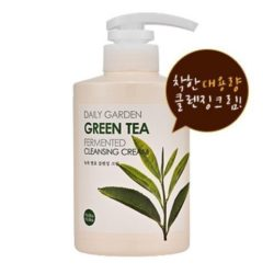 Holika Holika Daily Garden Green Tea Fermented Cleansing Cream  korean cosmetic skincare cleanser product online shop malaysia  netherlands greece