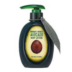 Holika Holika Farmers Market Avocado Body Lotion korean cosmetic body hair product online shop malaysia sweden germany