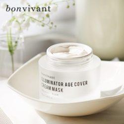 MEMEBOX Bonvivant Illuminator Age Cover Cream Mask 50ml korean cosmetic skincare shop malaysia singapore indonesia