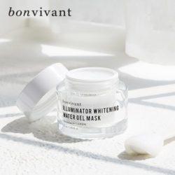 MEMEBOX Bonvivant Illuminator Whitening Water Gel Mask 50ml korean cosmetic skincare shop malaysia singapore indonesia
