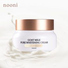 MEMEBOX Nooni Goat Milk Pure Whitening Cream 70g korean cosmetic skincare shop malaysia singapore indonesia