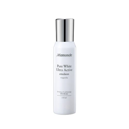 Mamonde Pure White Ultra Active Emulsion 150ml korean cosmetic skincare shop malaysia singapore indonesia