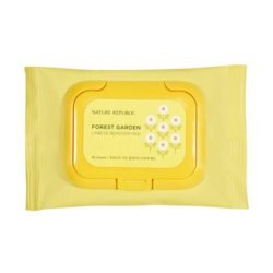 Nature Republic Forest Garden Lip & Eye Remover Pad 28ml korean cosmetic skincare shop malaysia singapore indonesia