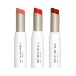 Nature Republic Matt Lip Stick 4.3g korean cosmetic skincare shop malaysia singapore indonesia