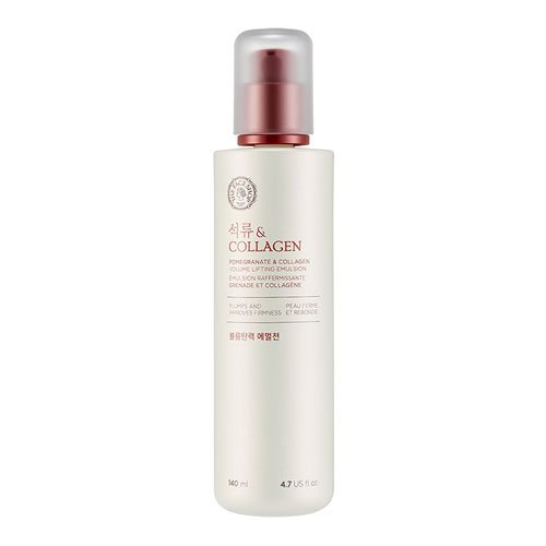 The Face Shop Pomegranate and Collagen Volume Lifting Emulsion 140ml korean cosmetic skincare shop malaysia singapore indonesia