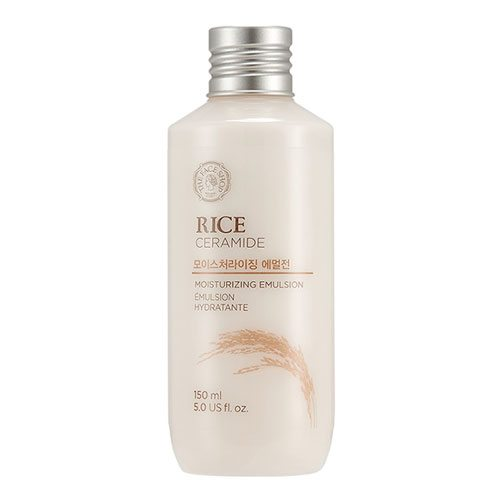 The Face Shop Rice Ceramide Moisturizing Emulsion 150ml korean cosmetic skincare shop malaysia singapore indonesia