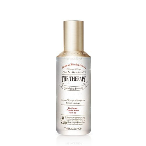 The Face Shop The Therapy First Serum 130ml korean cosmetic skincare shop malaysia singapore indonesia