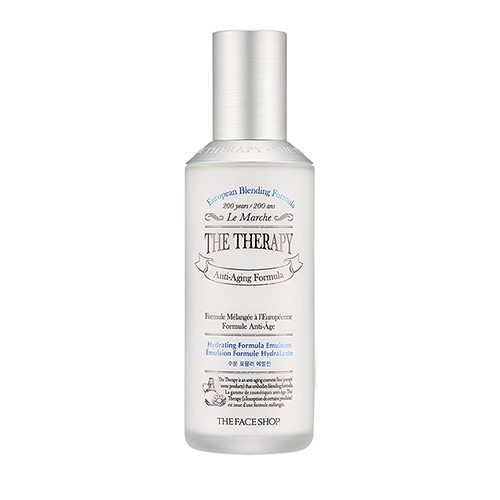 The Face Shop The Therapy Hydrating Formula Emulsion 130ml korean cosmetic skincare shop malaysia singapore indonesia