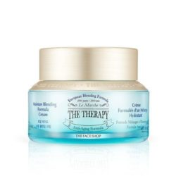 The Face Shop The Therapy Moisture Blending Formula Cream 50ml korean cosmetic skincare shop malaysia singapore indonesia