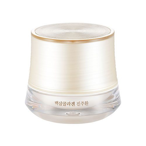 The Face Shop White Ginseng Collagen Pearl Capsule Cream 50g korean cosmetic skincare shop malaysia singapore indonesia