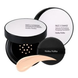 Holika Holika Face 2 Change Volume Fit Strobing Pumping Foundation korean cosmetic makeup product online shop malaysia vietnam macau