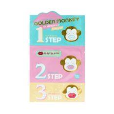 Holika Holika Golden Monkey Glamour Lip 3 Step Kit  korean cosmetic skincare product online shop malaysia  ireland peru