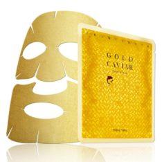 Holika Holika Prime Youth Gold Caviar Gold Foil Mask korean cosmetic skincare product online shop malaysia ireland peru