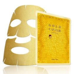 Holika Holika Prime Youth Gold Caviar Gold Foil Mask korean cosmetic skincare product online shop malaysia ireland peru