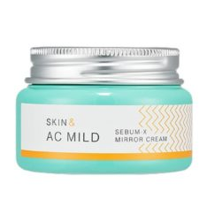 Holika Holika Skin and AC Mild Sebum X Mirror Cream  korean cosmetic skincare product online shop malaysia  ireland peru