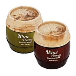 Holika Holika Wine Therapy Sleeping Mask korean cosmetic skincare product online shop malaysia ireland peru