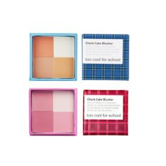 too cool for school Check Cake Blusher 7.6g korean cosmetic skincare shop malaysia singapore indonesia
