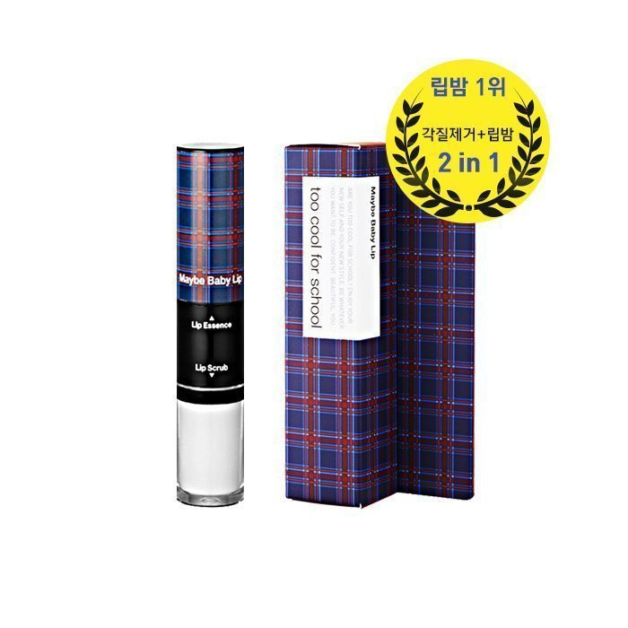 too cool for school Check Maybe Baby Lip 10g korean cosmetic skincare shop malaysia singapore indonesia