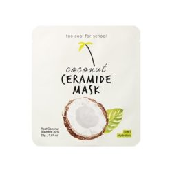 too cool for school Coconut Ceramide Mask 23g korean cosmetic skincare shop malaysia singapore indonesia