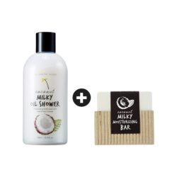too cool for school Coconut Milky Oil Shower 300ml korean cosmetic skincare shop malaysia singapore indonesia