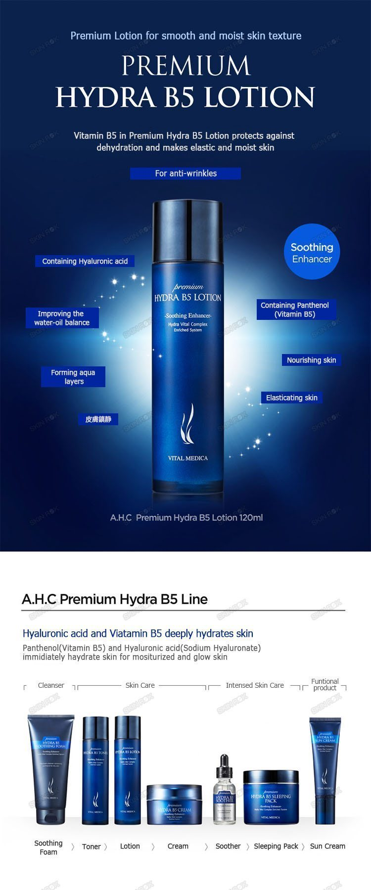 A.H.C Premium Hydra B5 Lotion 120ml malaysia singapore indonesia