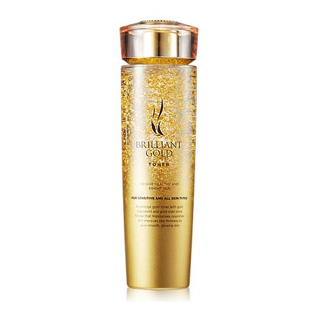 AHC Brilliant Gold Toner 140ml korean cosmetic skincare shop malaysia singapore indonesia