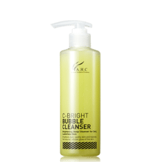 AHC C Bright Bubble Cleanser 250ml korean cosmetic skincare shop malaysia singapore indonesia