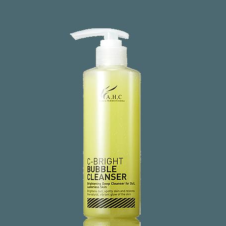 AHC C Bright Bubble Cleanser 250ml korean cosmetic skincare shop malaysia singapore indonesia