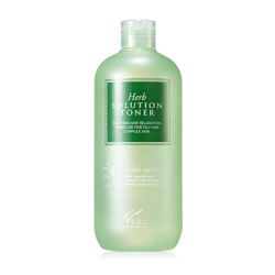 AHC Herb Solution Aloe Vera Toner 500ml korean cosmetic skincare shop malaysia singapore indonesia
