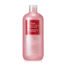 AHC Herb Solution Rose Toner 500ml korean cosmetic skincare shop malaysia singapore indonesia