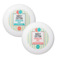 Holika Holika Sweet Cotton Serum Clear Pact korean cosmetic makeup product online shop malaysia vietnam macau