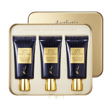 AHC Aesthetic Gold Manicure 30ml x 3ea korean cosmetic skincare shop malaysia singapore indonesia