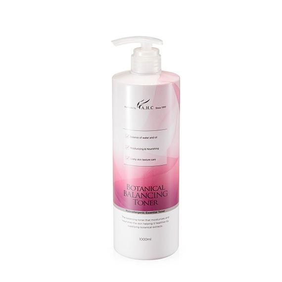 AHC Botanical Balancing Toner 1000ml korean cosmetic skincare product online shop malaysia Macau Brunei