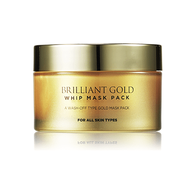 AHC Brilliant Gold Whip Mask Pack 100ml korean cosmetic skincare shop malaysia singapore indonesia