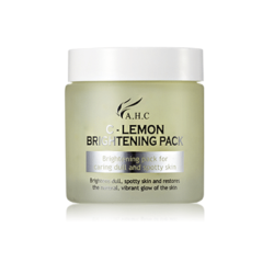 AHC C Lemon Brightening Pack 100ml korean cosmetic skincare shop malaysia singapore indonesia