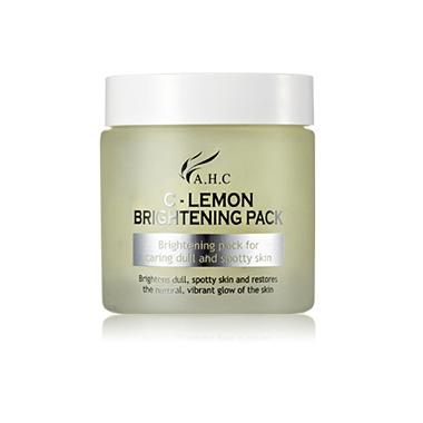 AHC C Lemon Brightening Pack 100ml korean cosmetic skincare shop malaysia singapore indonesia