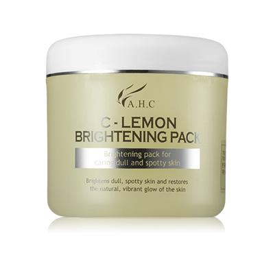 AHC C Lemon Brightening Pack 300ml korean cosmetic skincare shop malaysia singapore indonesia