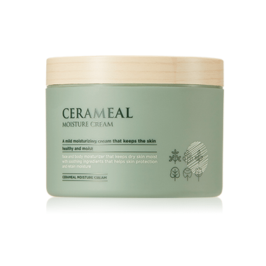 AHC Cerameal Moisture Cream 300ml korean cosmetic skincare shop malaysia singapore indonesia