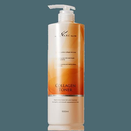 AHC Collagen Toner 1000ml korean cosmetic skincare shop malaysia singapore indonesia