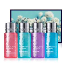 AHC Floral Body Shower Set 55ml x 4pcs korean cosmetic skincare shop malaysia singapore indonesia