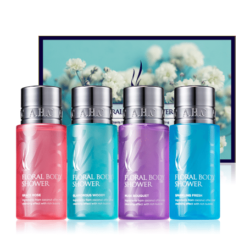 AHC Floral Body Shower Set 55ml x 4pcs korean cosmetic skincare shop malaysia singapore indonesia