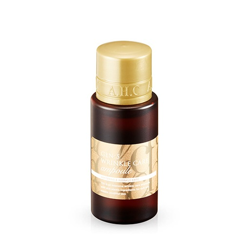 AHC Gen 5 Wrinkle Care Ampoule 50ml korean cosmetic skincare product online shop malaysia Macau Brunei