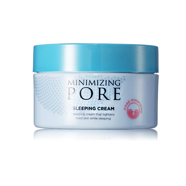AHC Minimizing Pore Sleeping Cream 150g korean cosmetic skincare shop malaysia singapore indonesia