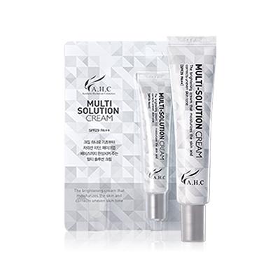 AHC Multi Solution Cream SPF 29 PA++ 10ml korean cosmetic skincare shop malaysia singapore indonesia