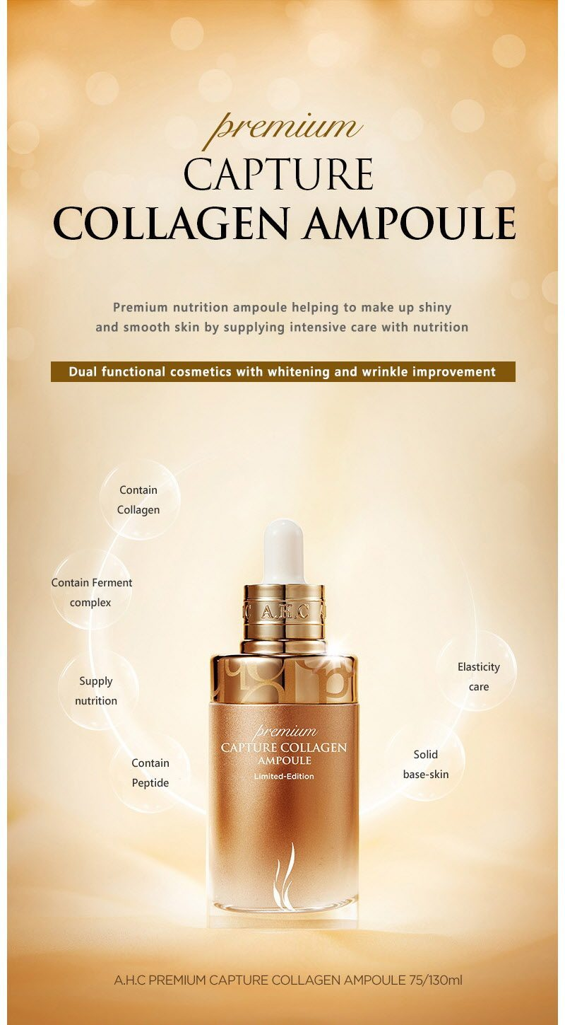 AHC Premium Capture Collagen Ampoule malaysia singapore indonesia