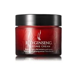 AHC Red Ginseng Sleeping Cream 50ml korean cosmetic skincare shop malaysia singapore indonesia