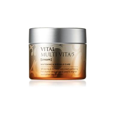 AHC Vital Multi Vita 5 Cream 50g korean cosmetic skincare shop malaysia singapore indonesia