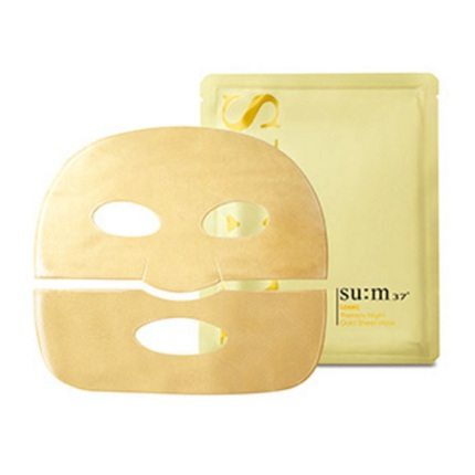 SUM37 Losec Therapy Night Gold Sheet Mask korean cosmetic skincare product online shop malaysia thailand nepal