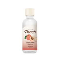 Skinfood Premium Peach Cotton Toner 175ml malaysia