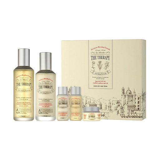 The Face Shop The Therapy Special Gift Set -Seoul Next By You Malaysia